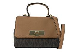 600d2c9675fd52 Michael Kors Signature Callie X-Small Crossbody Handbag, Brown, Acorn